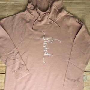 Blessed Pink Kids Graphic Hoodie Various Sizes